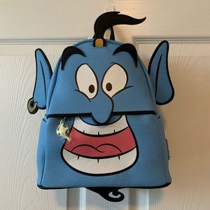 Disney Loungefly backpack Aladdins Genie
